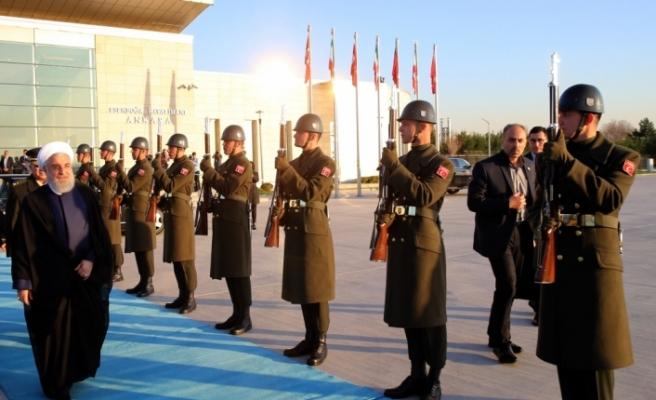 İran Cumhurbaşkanı Ruhani Türkiye'den ayrıldı