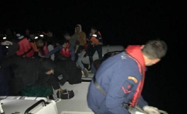İzmir açıklarında 209 kaçak yakalandı