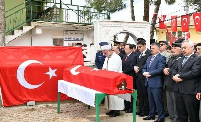 Kaza şehidi Uzman Çavuş, Balıkesir'de toprağa verildi