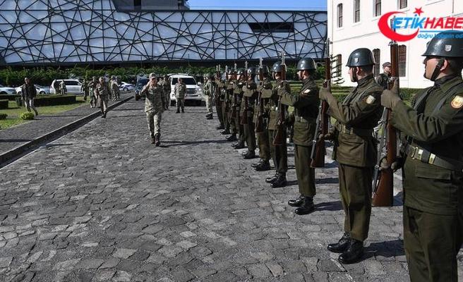 Komutanlardan Hatay'daki birliklerde inceleme