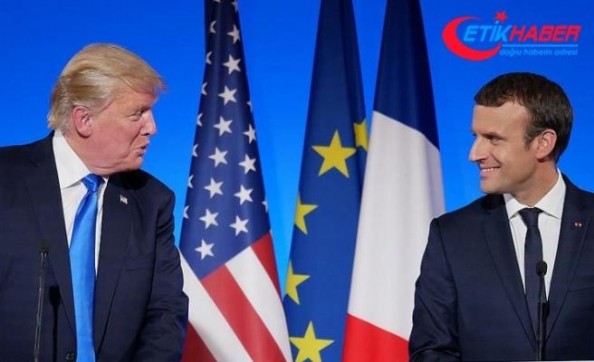 Macron ve Trump telefonda Suriye'yi görüştü