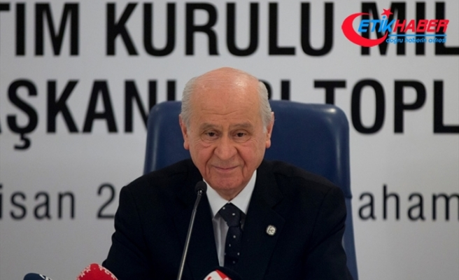 MHP Lideri Bahçeli il başkanlarını toplayacak