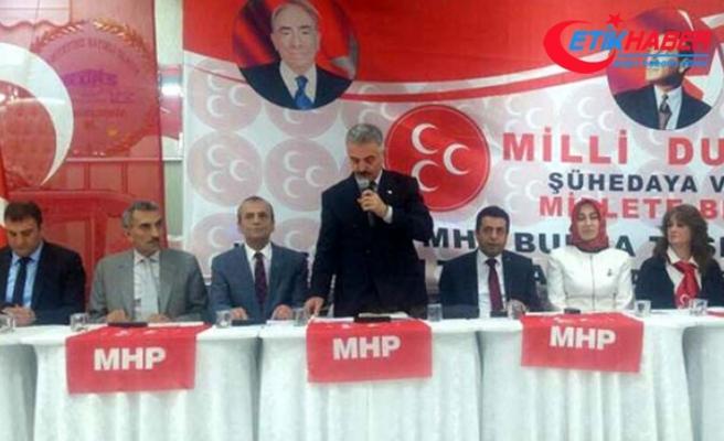 MHP'li Büyükataman: Bazıları, 'Hepimiz Lawrence'ız' diye bağırmaktadır