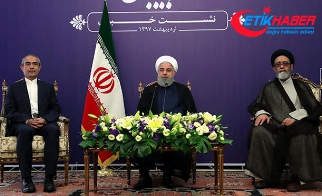 Ruhani: Nükleer anlaşma bozulursa hızla kaldığımız yere döneceğiz