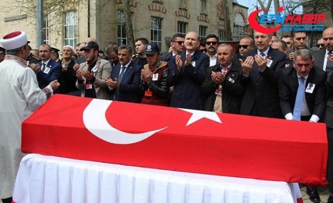 Şehit polis Ayan son yolculuğuna uğurlandı