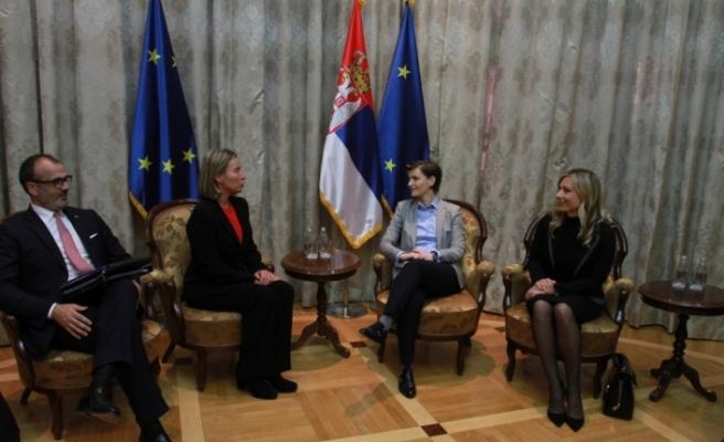 """""""Sırbistan, AB'ye üyelik sürecinde doğru bir yol izliyor"""""""