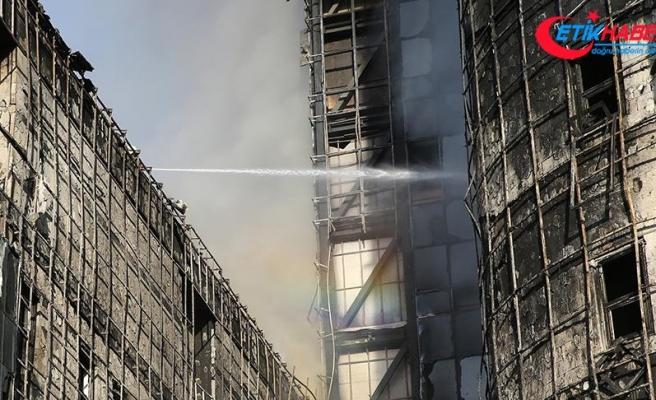 Taksim hastanesindeki yangınla ilgili soruşturma sürüyor