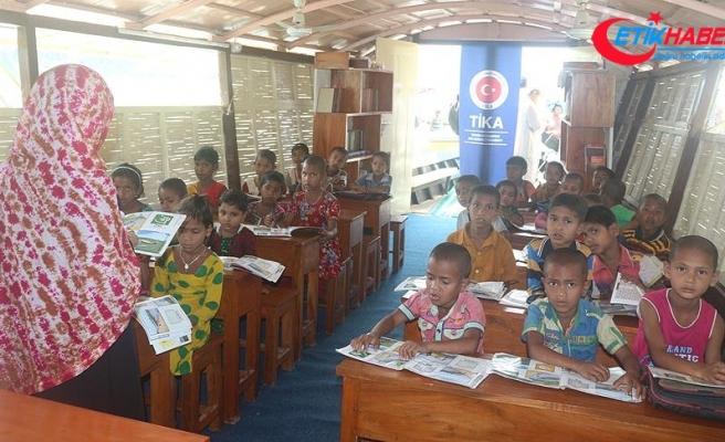 TİKA'dan Bangladeş'in eğitim ve sağlığına mobil destek