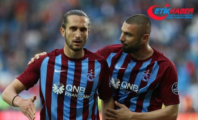 Trabzonspor'a Burak ve Yusuf'tan iyi haber