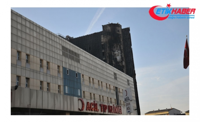 Yangın çıkan Taksim Eğitim ve Araştırma Hastanesi'nde son durum