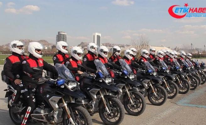 'Yunuslar' için yeni motosikletler alındı