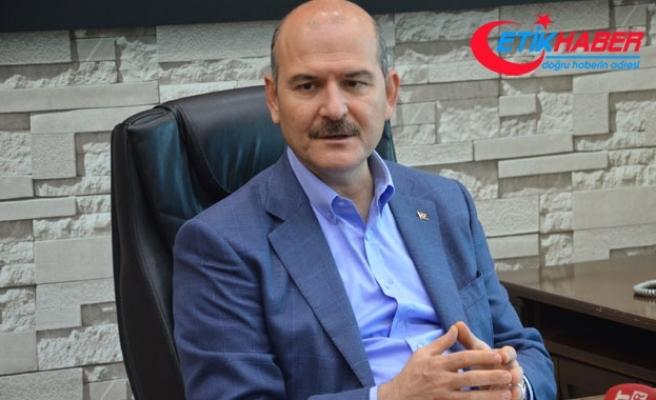 Bakan Soylu'dan, Muharrem İnce'nin Demirtaş ziyaretine eleştiri