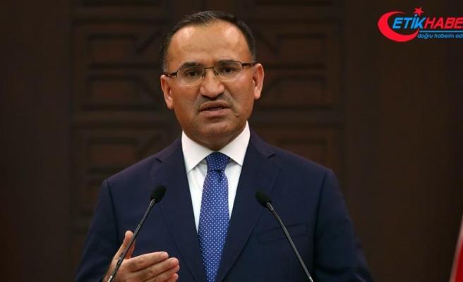 Bozdağ: Türkiye Gülen'i ABD'den usulüne uygun talep etti