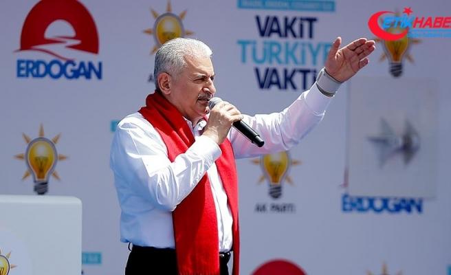 Başbakan Binali Yıldırım: Biz biriz, beraberiz, kardeşiz, birlikte Türkiye'yiz