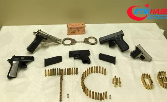 Başkentte silah kaçakçılarına operasyon: 12 gözaltı