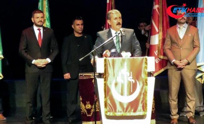 BBP Genel Başkanı Mustafa Destici: Cumhur İttifakı zaferle çıkacak