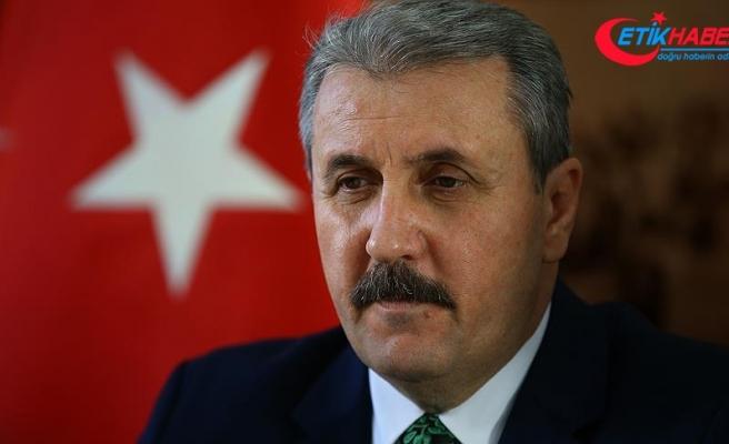 BBP Genel Başkanı Mustafa Destici: Filistin toprakları tekrar Filistinlilerin olacaktır