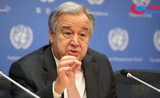 BM Genel Sekreteri Guterres'ten Filistin açıklaması