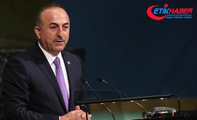 Çavuşoğlu: Bağımsız Filistin devletinin tanıması için çalışacağız