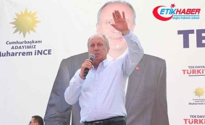 CHP'nin cumhurbaşkanı adayı İnce: 81 milyonun cumhurbaşkanı olacağım