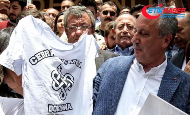 CHP'nin cumhurbaşkanı adayı İnce: Hem Cerrahpaşa, hem de Türkiye kaybediyor