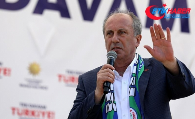 CHP'nin cumhurbaşkanı adayı İnce: Türkiye'nin sorunları eğitimle çözülür