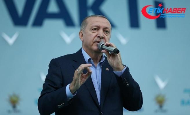 Cumhurbaşkanı Erdoğan: Bana icazeti halkım verdi