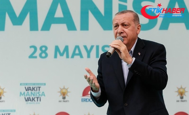 Cumhurbaşkanı Erdoğan'dan İnce'ye Pensilvanya yanıtı