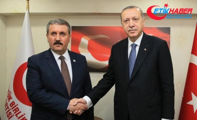 Cumhurbaşkanı Erdoğan'dan ortak miting açıklaması