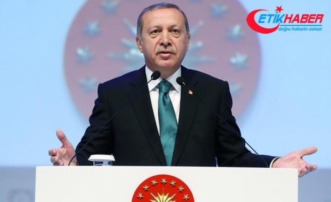 Cumhurbaşkanı Erdoğan: Heveslerini kursaklarında bırakacağız