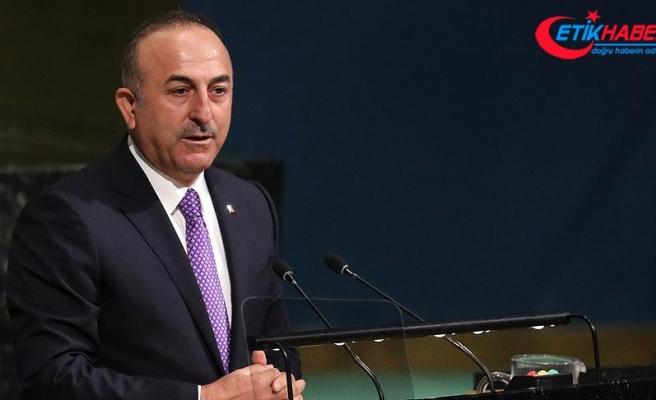 Dışişleri Bakanı Mevlüt Çavuşoğlu: Bağımsız Filistin devletinin tanıması için çalışacağız