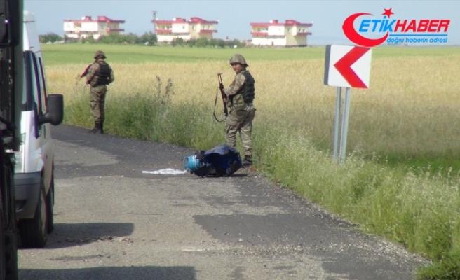 Diyarbakır'da yola tuzaklanan patlayıcı infilak ettirildi