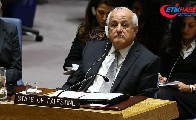 Filistin'den BMGK'ye acil toplantı çağrısı