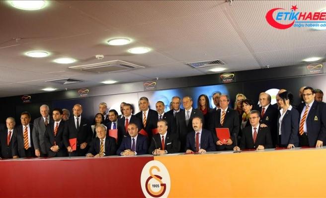 Galatasaray Kulübünden seçim tebrikleri için teşekkür mesajı