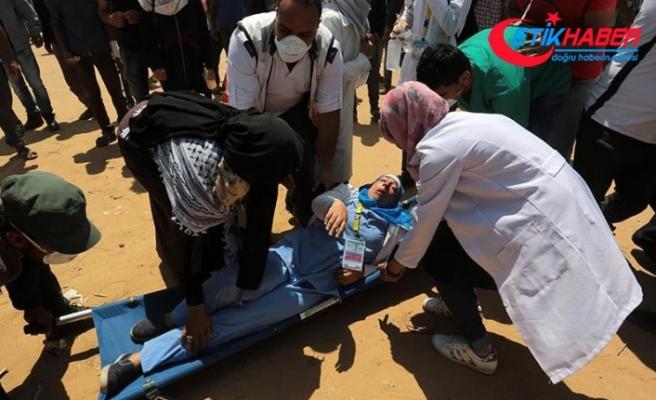 Gazze'de bir Filistinli daha şehit edildi