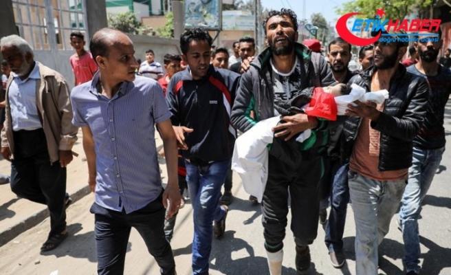 Gazze katliamının en küçük şehidi: 8 aylık Leyla bebek