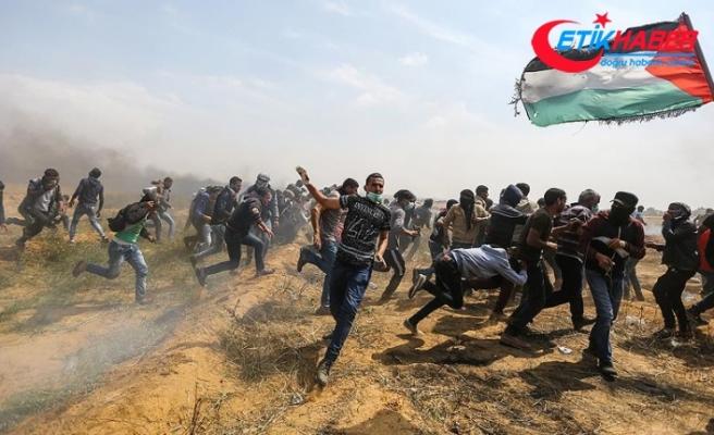 Gazze şehit vermeye devam ediyor