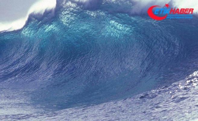 Güney Yarım Küre'nin en büyük dalga boyu 23,8 metre