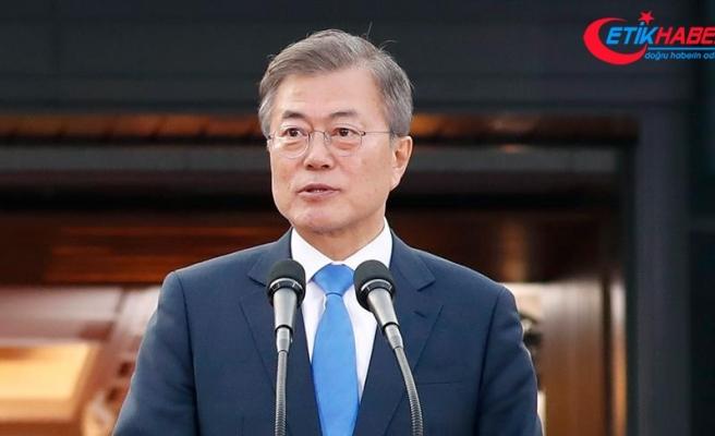 Güney Kore lideri, Trump-Kim zirvesini televizyondan izledi