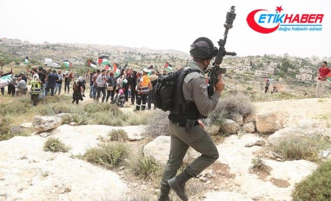 İsrail askerleri Batı Şeria'daki gösterilere müdahale etti