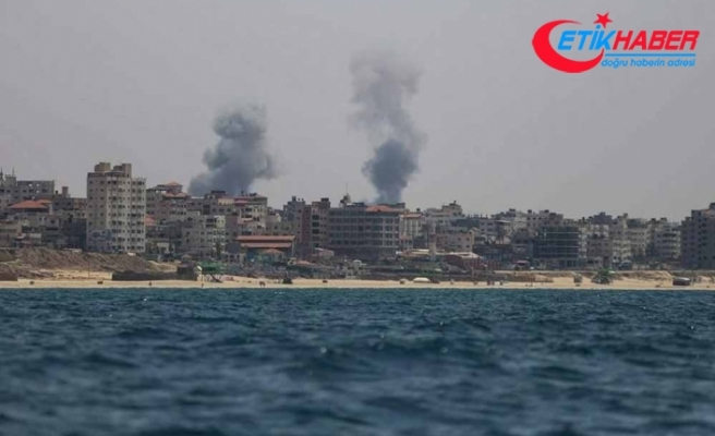 İsrail Ordusu: Gazze'de 35 hedefi havadan vurduk