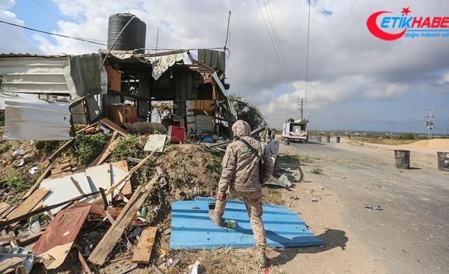 İsrail askerleri Gazze sınırında bir Filistinliyi şehit etti