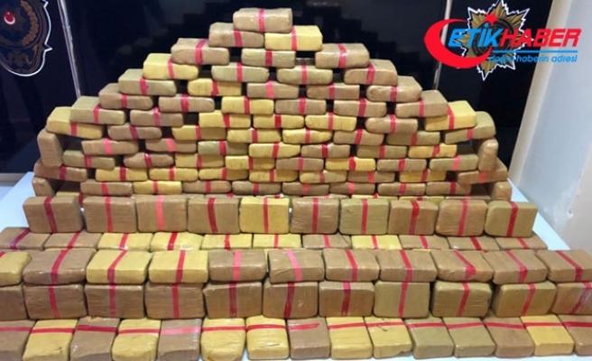 İstanbul'da 80 kilo 500 gram uyuşturucu ele geçirildi
