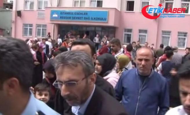 İstanbul'da ilkokulda bomba paniği