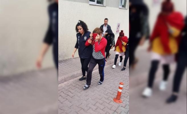 Kayseri'de fuhuş çetesine 7 tutuklama