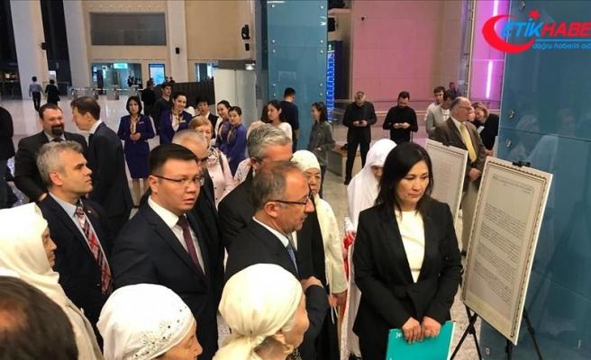Kazakistan'da 'Osmanlı belgeleri' sergisi açıldı