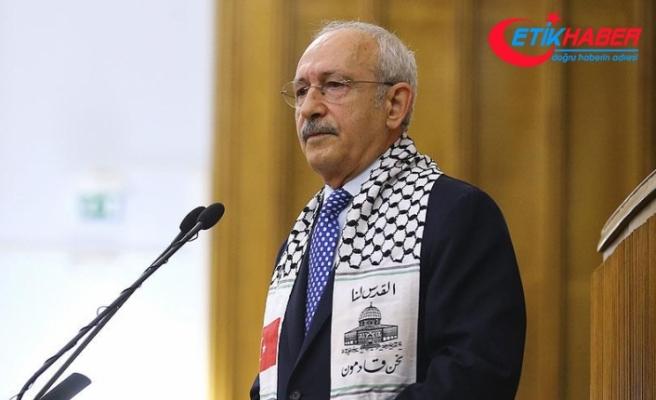 Kılıçdaroğlu: Arap dünyası Filistin'e bizim kadar sahip çıkamıyor