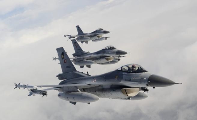 Kuzey Irak'a hava harekatı: 6 hedef imha edildi