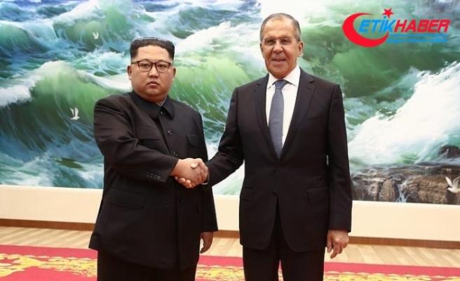 Lavrov Kuzey Kore lideri ile görüştü