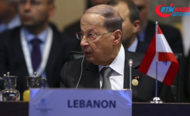 Lübnan Cumhurbaşkanı Avn: İsrail, Müslüman ve Hristiyanlara karşı tehcir politikası uyguluyor